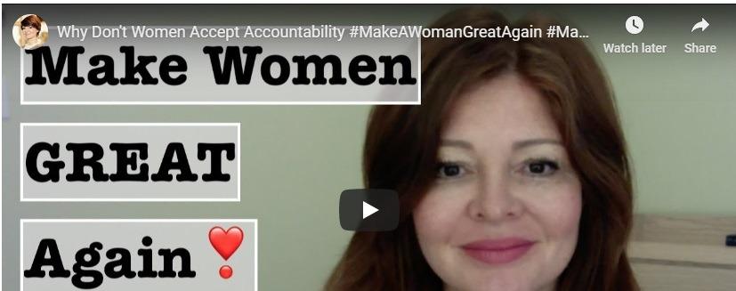How to make women mature again