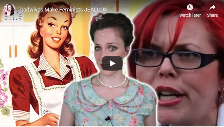 Feminist rail and complain against tradwives