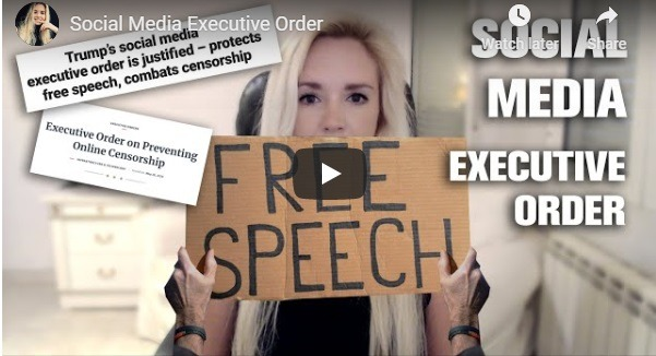 Executive Order against Social Media's Control